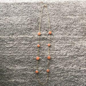 Jewelry - Orange Gem Necklace